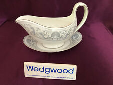 Wedgwood Dolphins R4652 Gravy Boat and stand - beautiful!