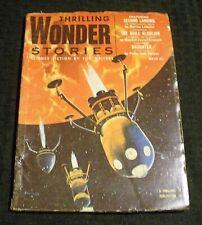 1954 Winter THRILLING WONDER STORIES Pulp Magazine v.43 #2 VG 4.0 Philip Farmer