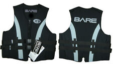 BARE Life Jacket All Neoprene Size Men's Small Black