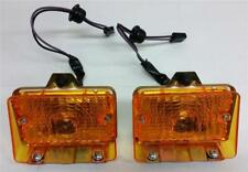 1971 1972 Chevrolet Chevy II Nova Front Parking Park Lamp Light Assembly Pair