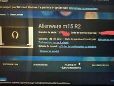Alienware M15 R2