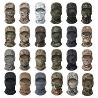 Tactical Camouflage Balaclava Hunting Shooting Full Face Mask Neck Scarf Snood