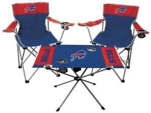 Buffalo Bills  3 Piece Tailgate Kit - 2 Chairs - 1 Table