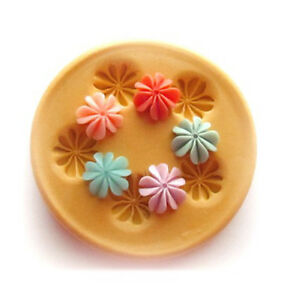 Sugarcraft Mold Polymer Clay Molds Cake Decorating Tools/ tiny flower molds 42