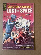 Space Family Robinson Lost in Space Gold Key #35 comic book 1970s Giants Vg+