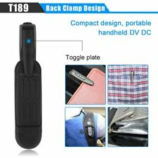 T189 Mini Camera Full HD 1080P Secret Camera Wearable Small Pen Camera Mini DVR
