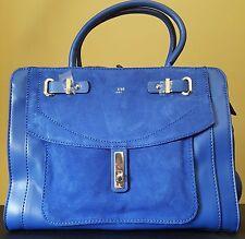 NWT Guess Kingsley Cobalt Satchel Handbag Cobalt 6 MSRP $128.00