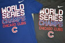 Nike Men's Chicago Cubs World Series Champs T-Shirts (Lot of 2) Size S / M Guc