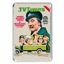 RETRO 60's 'ON THE BUSES' - BLAKEY,TV TIME COVER JUMBO Fridge / Locker  Magnet