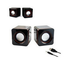 USB Portable Computer Laptop Speakers System Multimedia Desktop PC Speaker