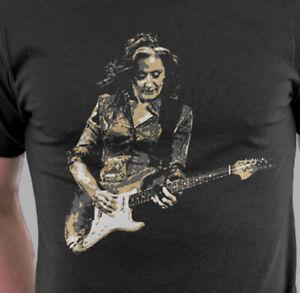 BONNIE RAITT Graphic T-shirt Bonnie Raitt Guitar Unisex Adult Shirt