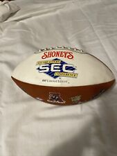 Shoney's South Eastern Conference (SEC) 1997 Limited Edition Rawlings Football