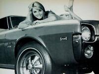1968 AMC JAVELIN ORIGINAL CRAGAR SS WHEEL AD *GT/AMX/hood/290/390 v8/decal/hot