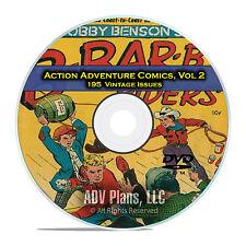 Action Adventure Comics, Vol 2, Catholic Comics, Seven Seas, Golden Age DVD D45