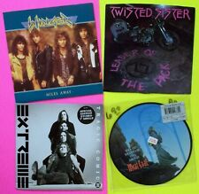 90's METAL/Hard Rock x4 45 LOT:Twisted Sister/Extreme/Winger/Meat Loaf RP326