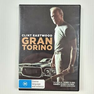 Gran Torino DVD - Clint Eastwood - Region 4 PAL - TRACKED POSTAGE