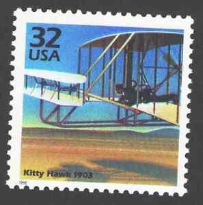 US. 3182g. 32c. Wright Birthers First Flight. 1903. Celebrate The Century. 1998