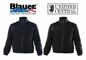 NEW Blauer Softshell Fleece Jacket Black or Dark Navy - Law Enforcement - 4650