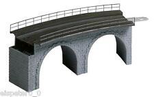Faller 120478, Viadukt-Oberteil gebogen, Miniaturwelten H0 (1:87)
