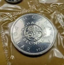 1964 Canada Proof Like Silver Uncirculated Mint Set No Dot Dollar Variety