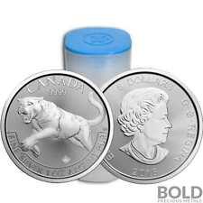 2016 Silver 1 oz Canada Predator Cougar (25 Coins)