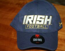 eb3d67056c161 Notre Dame Marine Midnight Navy Men`s Football Hat Fitted by Under Armour S