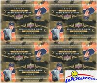 (4) 2018/19 UD Series 1 Hockey Factory Sealed 24 Pack Retail Boxes-24 YOUNG GUNS