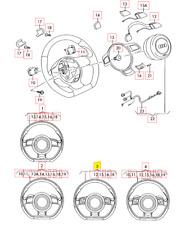 Nuevo Original Audi R8 2013-2015 Cuero Sports Volante 420419091KTNA OEM