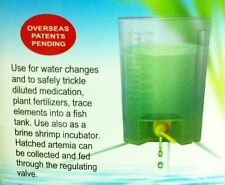 S buffer barrel for water exchange or feeder artemia brine shrimp eggs aquarium