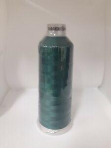 Madeira Polyneon 40, 1703 Bottle Green 5000m Machine Embroidery Thread Brand New