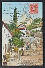 3070.-GRANADA -Una cuesta de Granada (Enviada a México en 1909)