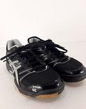 New listing Asics Gel Rocket Volleyball Shoes Women Black SIZE 7 model B455N
