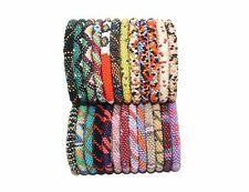 Random Sets Of 12 multi Color Bracelets Nepal bracelet Roll On Bracelet