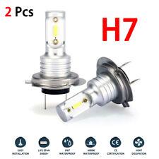 H7 LED Headlight Bulb Conversion Kit Hi/Lo Beam 55W 8000LM 6000K Super Bright US