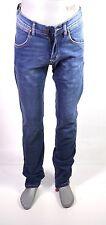 X5-57 Wrangler 2FRZ Herren Jeans W29 L34 blau Tapered Fitted Regular Stretch NEU