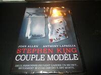 "DVD NF ""COUPLE MODELE d'après Stephen King"" Joan ALLEN, Anthony LAPAGLIA horreur"
