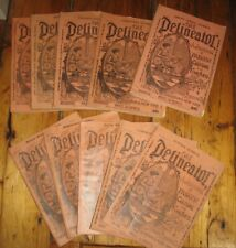 lot of 10 Antique The Delineator Women's Magazine 1894 Fashion Great Old Ads