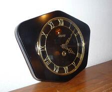Belle Horloge en FORMICA Noir  -- BAYARD    Des Années 50's