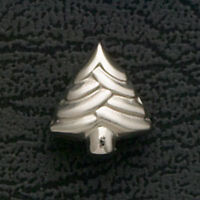 Christmas Tree Bead Charm Fits European Bracelets Stainless Steel Holiday Gifts