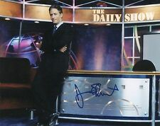 Jon Stewart Autographed 10 x 8 The Daily Show With Jon Stewart