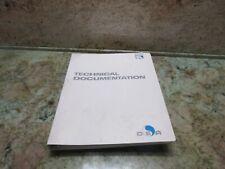 DEA MISTRAL CMM MEASURING MACHINE TECHNICAL DOCUMENTATION MISTRAL MANUAL GUIDE
