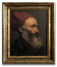 Öl auf Leinwand Männerportrait handsigniert datiert 1872 (Georges Buisson?)
