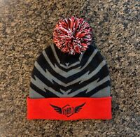 New Balance Nationals Hat Beanie Knit with Pom Pom New Without Tag Track Field