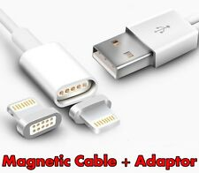 iPhone Magnetic Lightning USB Data Sync Cable Charger & Adapter for 5 6 7