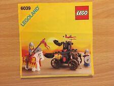 Lego Castle Twin bras lanceur 6039
