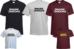 Imagine Dragons T Shirt I Bet My Life Long Gift Graphic Top Quality Gift
