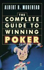 Winning Poker - Complete Guide by Albert H. Morehead (1973, Paperback)