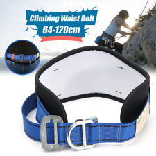 Safety Rock Climbing Waist Belt Harness Tool Mountain Downhill Rappelling Protec