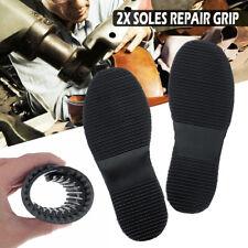 1Pair Replace DIY Stick On Full Soles Heel Palm Shoe Repair Anti-Slip Grip-Rubby