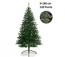 Albero di Natale Artificiale 520 Punte 180 cm Pino Natalizio